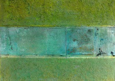 Mischtechnik/Acryl 23 (2012) 80x80  (Preis auf Anfrage)
