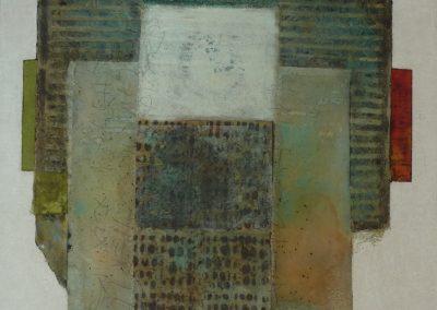 Mischtechnik/Acryl 13 (2012) 100x100 Schattenfuge  (Preis auf Anfrage)