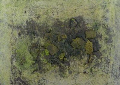 """Kleine Formate 12 """"Steine3"""" (2015) 20x20 (Preis auf Anfrage)"""
