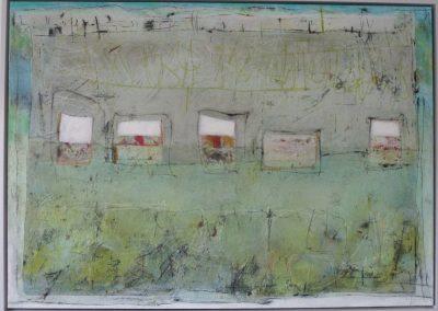 Schichtungen 1 (2016) 100x140 Schattenfuge (Preis auf Anfrage)
