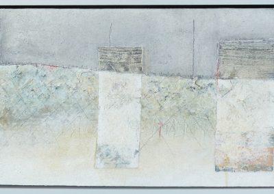 """Schichtungen 11 """"Grenze"""" (2016) 60x120 Schattenfuge (Preis auf Anfrage)"""