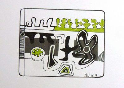 Colorierte Kopien Serie