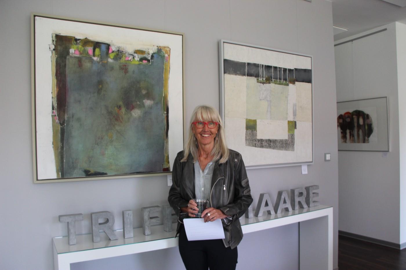Die Künstlerin Magret Thimm
