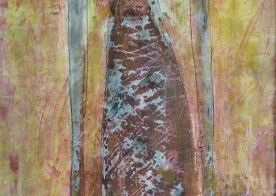 """Aquarell 2 """"Kleid"""" (2012) 50x70 (Preis auf Anfrage)"""