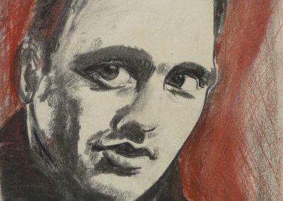 """Zeichnung 4""""Junger Mann 1"""" (2008) 20x30 (Preis auf Anfrage)"""